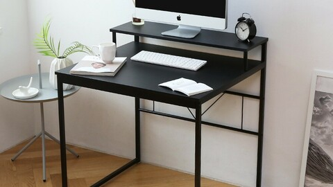 Multi 2 tier standing desk 2colors