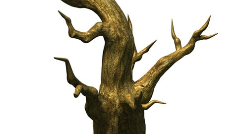 Fairy town - dead tree 3
