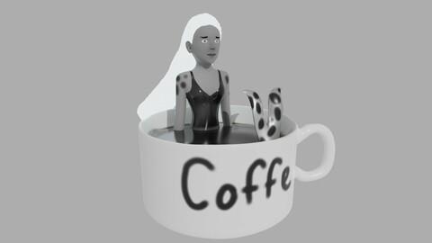 A coffe nymph