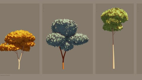 Stylized Trees Pack