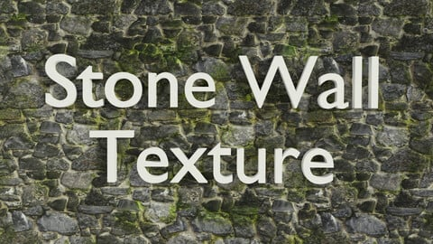 Irregular Stone Wall Texture (PBR)
