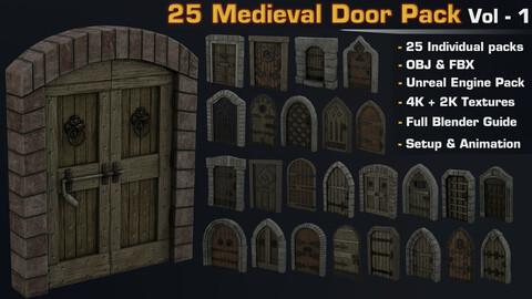 Medieval Door Ultimate Pack Vol.1