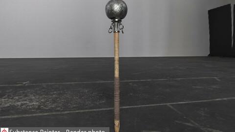 Ancient Round hammer