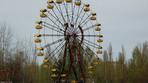 800+ Photos taken in the Chernobyl exclusion zone for reference pictures.