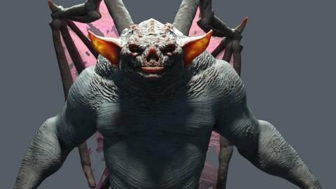 Gargoyle HD for Genesis 8 Males