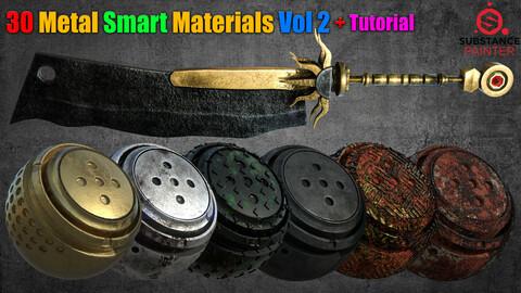 30 Metal Smart Materials Vol 2 + Tutorial