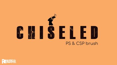 Chiseled | Photoshop & CSP Brush