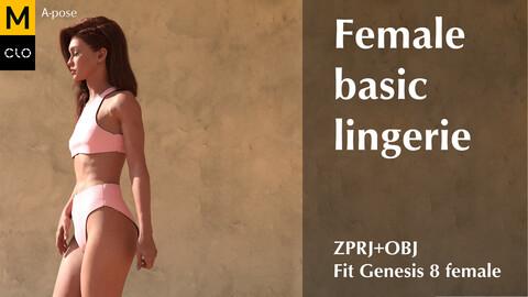 Female basic lingerie