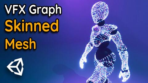 Skinned Mesh Sampling in Unity VFX Graph