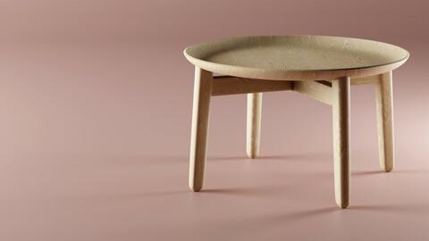 Coffee Table - PLAISIR by Zeitraum - REPLICA 3D model