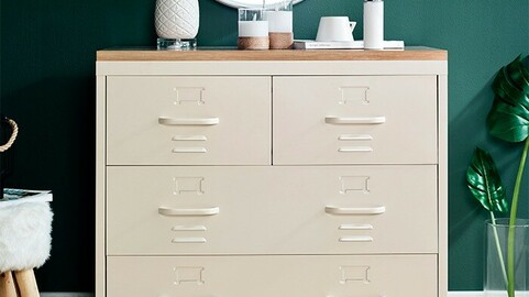 LLC-073A Steel Cabinet Cabinet 2colors