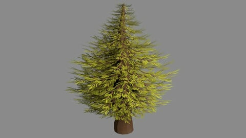 Low Poly Tree Pack (4 different models and textures)