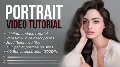 Portrait Painting in Photoshop Video Tutorial