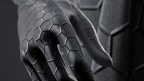 Procedural Sci Fi Cloth Shader