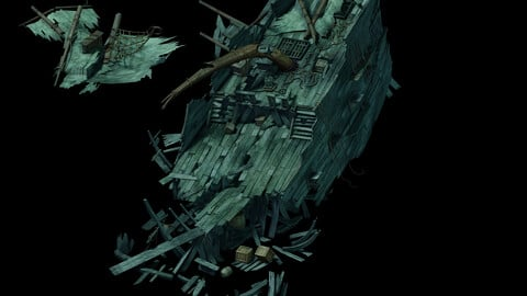 Seabed Wreckage - Wreckage 02