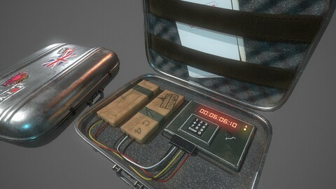Briefcase C4 Bomb