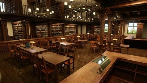 FG Bluson Library
