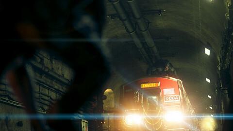 Subway Tunnel Environment