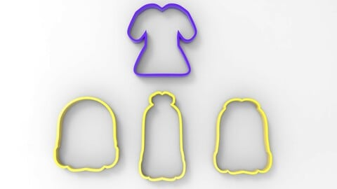 Cookie Cutter Minions Pack