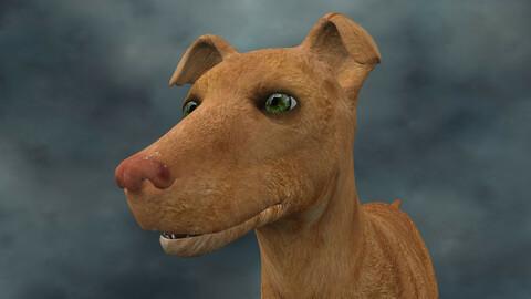 MDGH.014 Rigged Dog