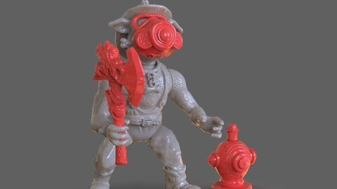 TMNT Hot Spot Articulated Toy With Accessories