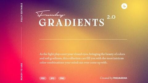 Funky Gradient Textures Vol.2
