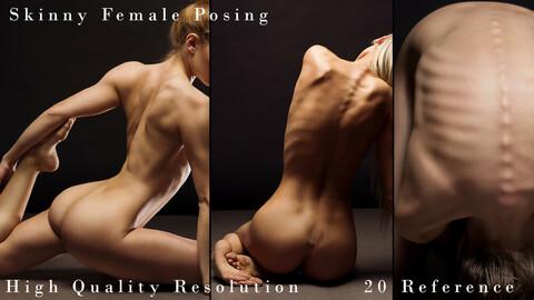 Skinny Female Posing