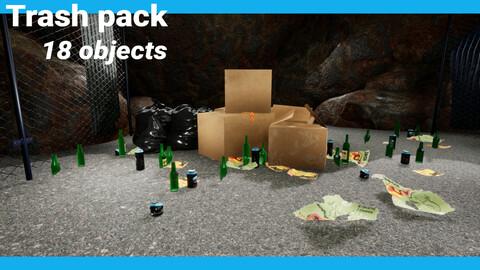 Trash pack   UE4