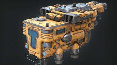 Old Spaceship