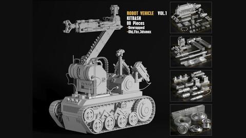 Robot vehicle kitbash