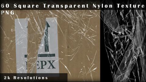 60 Square Transparent Nylon - PNG Textures