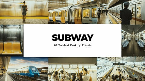20 Subway LUTs and Lightroom Presets