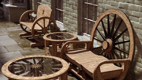 Celtic, Chic & Industrial Garden Furniture