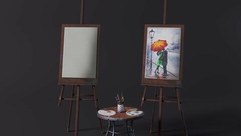 Painting Utensils (stylized)