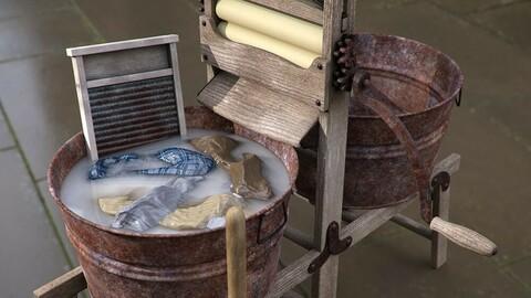 Antique Laundry Tools