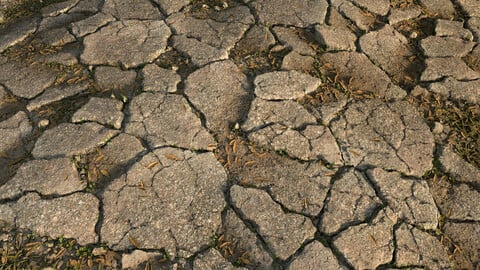 Cracked Asphalt Material I Substance Designer Graph