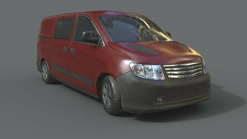 Generic Minivan Brown
