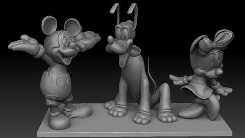 Pluto.Mickey.Mini.
