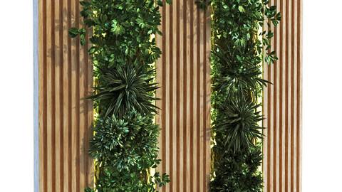 vertical plant set 089