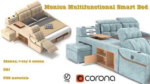 Monica Multifunctional Smart Bed