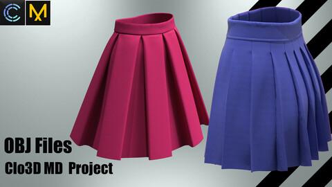 School skirts 2 pieces ( Project+OBJ)
