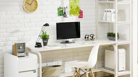 EXO Steel H-Type Iron Desk Set 3size 4colors