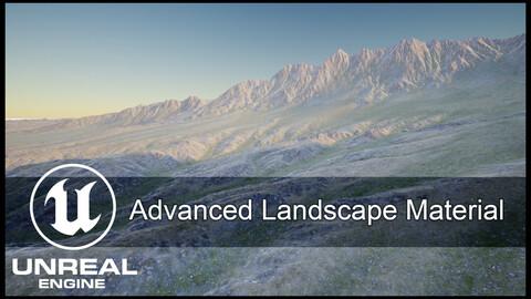 Unreal Engine Advanced Landscape Material