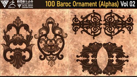 100 Baroc Ornament (Alphas) Volume 02