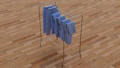Textured Hanged jeans Rack