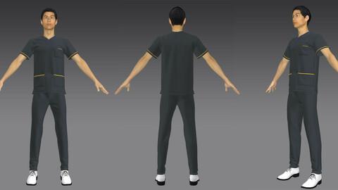 Marvelous Deisgner Doctor or who work like this uniform 3D