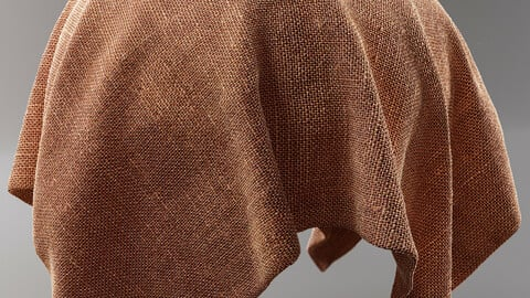 PBR - FABRIC RUSTIC, CLOTHE, FORNITURE - 4K MATERIAL