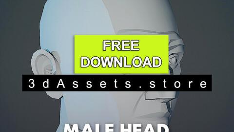 Character - Male Head Planar