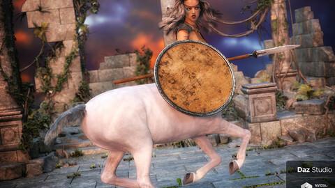 Black Market Blades Gladiator Basics for Genesis 8 and Centaur 8