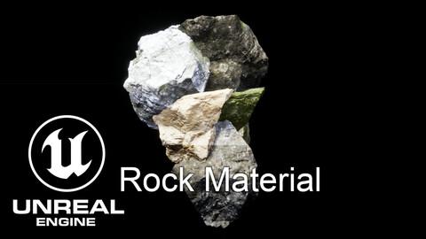 Unreal Engine Rock/Static Mesh Master Material